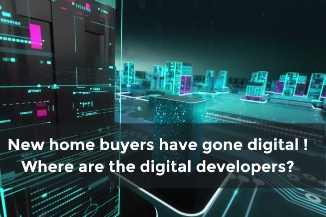 Customer Lifecycle : Homes are going digital ... What about property developers ?